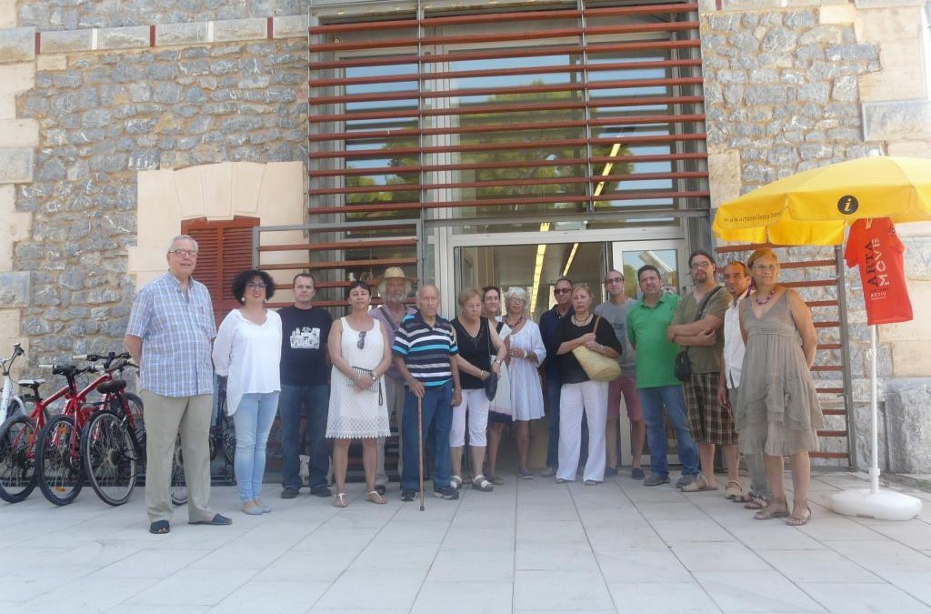 Inauguration of the second floor of the station of Arta