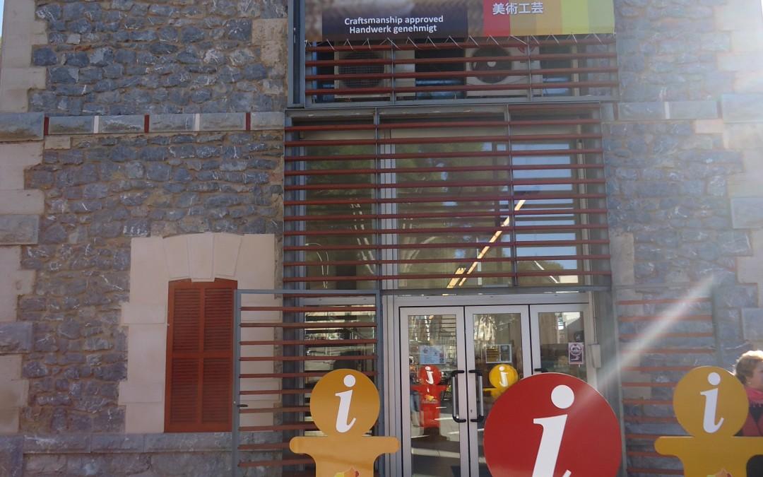 Inauguración de la tienda de la estación marca D`Artà